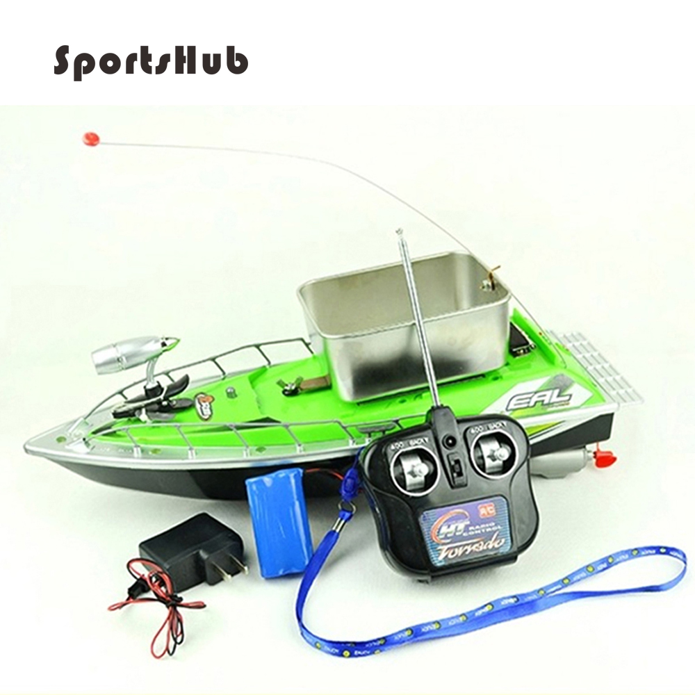 SPORTSHUB 45*21*15CM Updated Mini Fast Electric RC Bait Fishing Boat 300M Remote Fish Finder Boat Fishing <font><b>Lure</b></font> Boat RC Boat