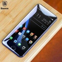Baseus 강화 유리 아이폰 7 7 플러스 8 8 플러스 X 화면 보호기 0.23 미리메터 얇은 3D 전체 화면 보호기 X 유리
