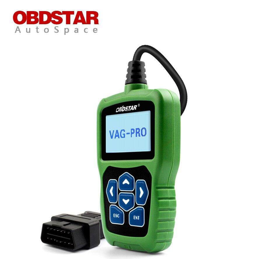 Obdstar vag pro car key programmer epb airbag srs odometer mileage change obd 2 scan tool for vw audi skoda seat volkswagen