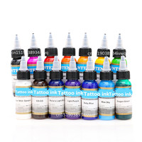 Permanent Makeup Pigment Color Tattoo Ink Kit 14 Colors Micropigment Makeup Bloodline Tattoo Pigment Set 30ML