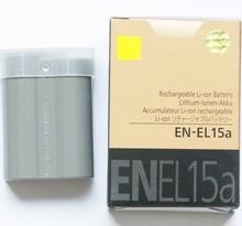 EN EL15A ENEL15A EN EL15A Batterij Pack Voor Nikon Camera D850 D7000 D600 D810 D750 D610 D7500 D7200 MH 25 MB D15 EN EL15