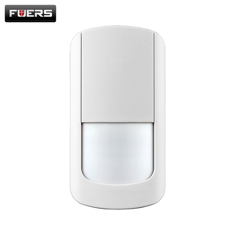 G90B Infrared motion Wireless PIR detector for Security Home Alarm System Motion Detector Alarm Sensor White free shipping wireless pir detector for home alarm home security system 433mhz motion sensor