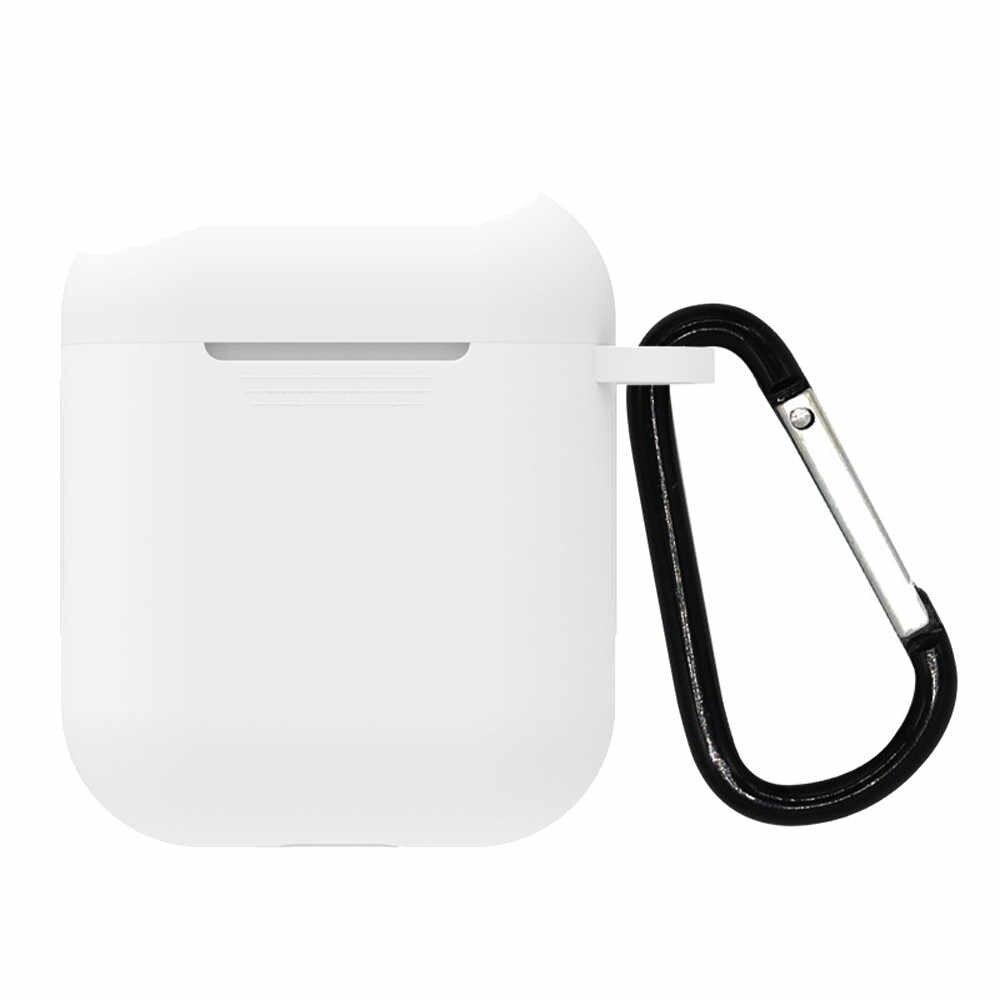 ミニソフトシリコンケース Apple の Airpods 耐衝撃 Apple AirPods イヤホンケース超薄型空気ポッドプロテクターケース J