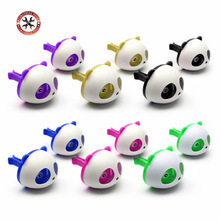 2PCS Cute Panda Car Styling Air Freshener Perfume ambientador para auto for Air Vent Decoration Car Smell Flavors Accessories