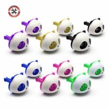 Air-Freshener Perfume Flavors-Accessories Car-Smell Panda Auto Ambientador Cute for 2PCS