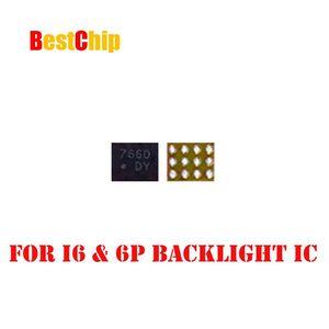 Image 2 - 20 unids/lote luz de fondo fix parte U1502 para iphone 6/6plus/6 plus retroiluminación IC chip U1580 12 pines DY LM3534