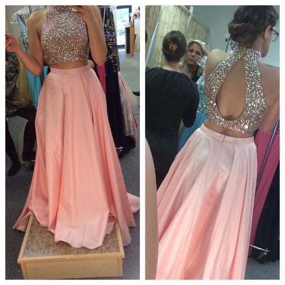 Plus Size Two Piece Prom Dresses – fashion dresses