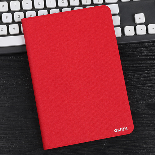 red Red tablet bag flip leather case for Apple ipad 10 2 protective Stand Cover Silicone soft shell