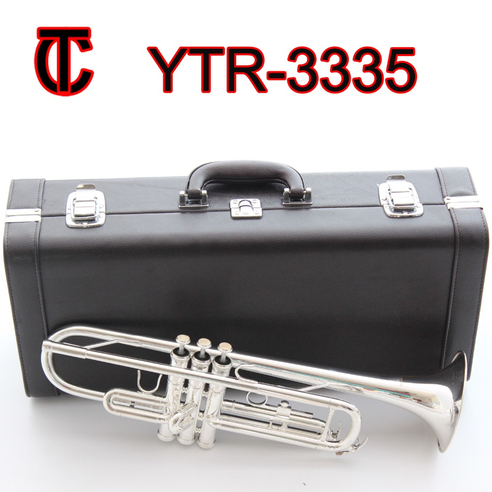 Trumpet Bach Stradivarius Student Tr600 Bb Trumpet Silver Plated Trompete Instrumentos Musicales Profesionales With Case Mouthpiece Brass Instruments