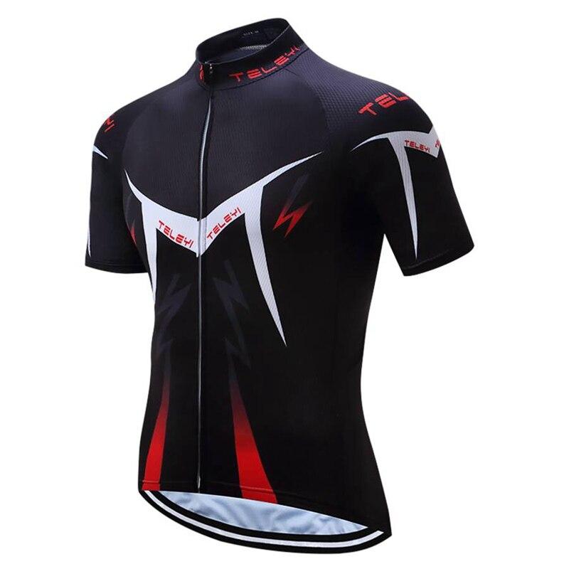 Prix pour 2017 NEW jersey à vélo à manches courtes vélo clothing vélo usure d'exercice ropa ciclismo T-shirt À Séchage Rapide