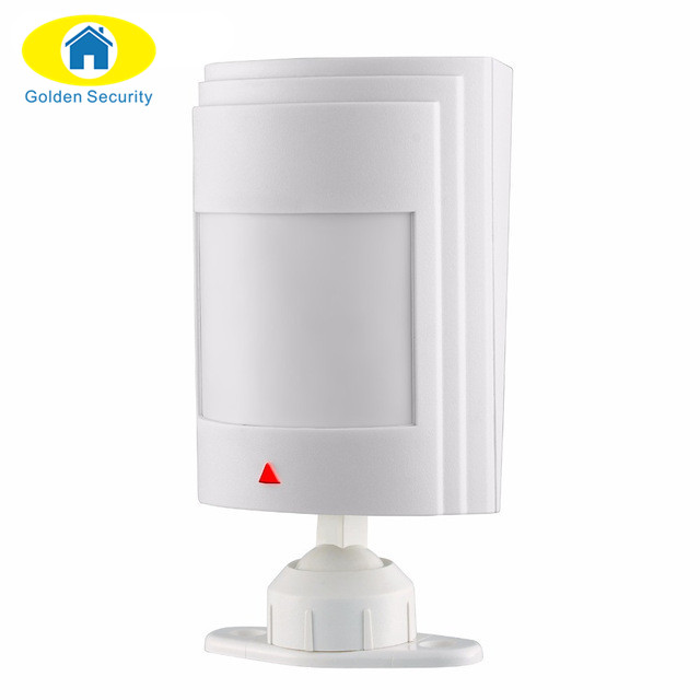 Golden Security 433Mhz Wired PIR Infrared Detector Motion Sensor For GSM/PSTN Alarm System Suitable for G19 G90B Q2 alarm system big promotions pir infrared beam motion detector for home security gsm wifi pstn alarm system wired wireless beam sensor