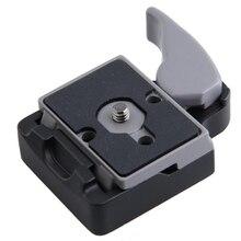 Новый Камера Quick Release Plate адаптер Compat пластина для Камера 496RC2 323 крепление металлического сплава быстрый монтаж на платформе