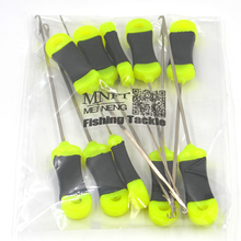 MNFT New 10 Pieces/Lot oilie Loading Needle Hair Rig Baiting Needle Loading Tool Carp Fishing Accessory Tools Wholesale