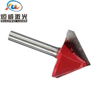 90 6mm Shank 90 Degree Tungsten Steel Router CNC Engraving V Groove Bit 6x22mm (5)