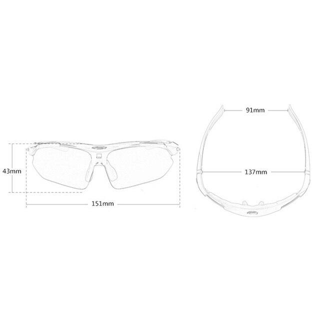 Bicicleta ciclismo óculos de sol à prova de vento uv400 óculos de proteção feminino esportes corrida rr7009 6