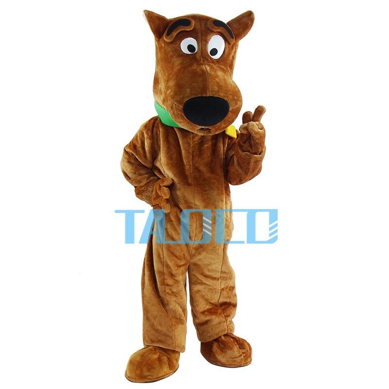 Neue Scooby Doo Hund Maskottchen Kostüm Cosplay Erwachsene Größen ...