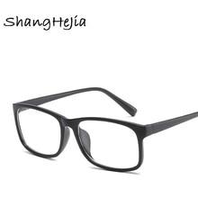 f7835d9ade 2018 Classic Male Square Eyeglasses Frame Brand Designer Fashion Women Nail  Decoration Optical Glasses Reading Glasses
