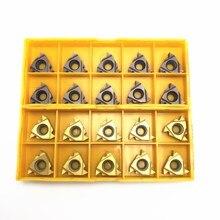 CNC threaded insert MMT16IR AG55 VP15TF UE6020 brand new positive angle carbide blade metal turning tool 16IR car