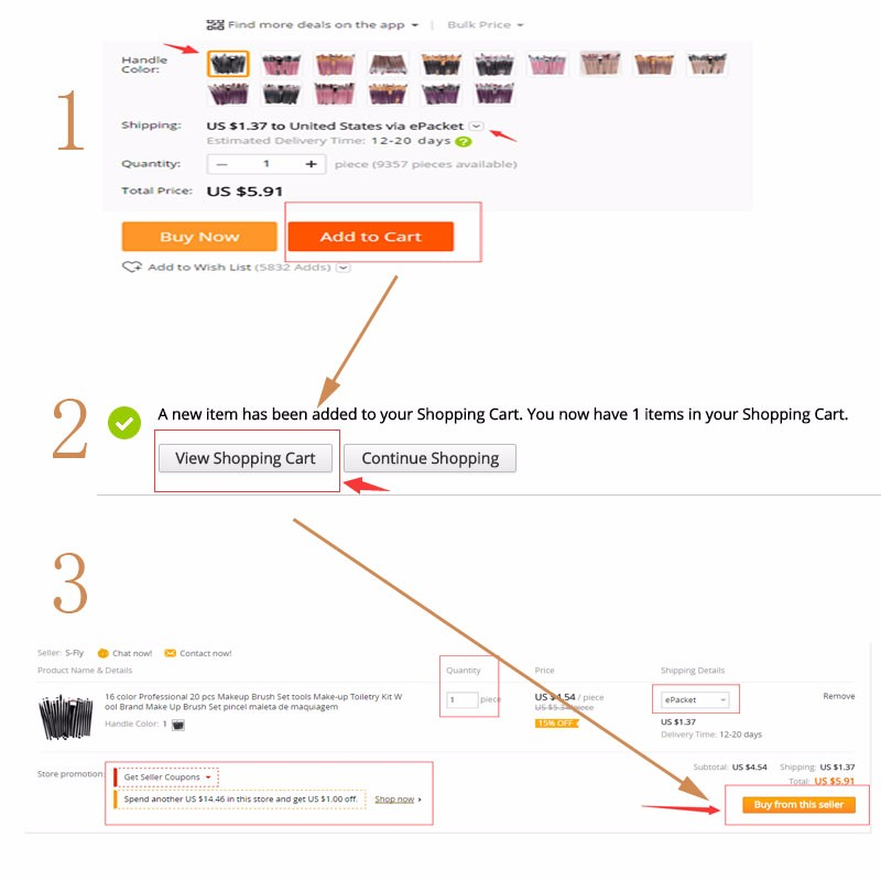 how to make order picture