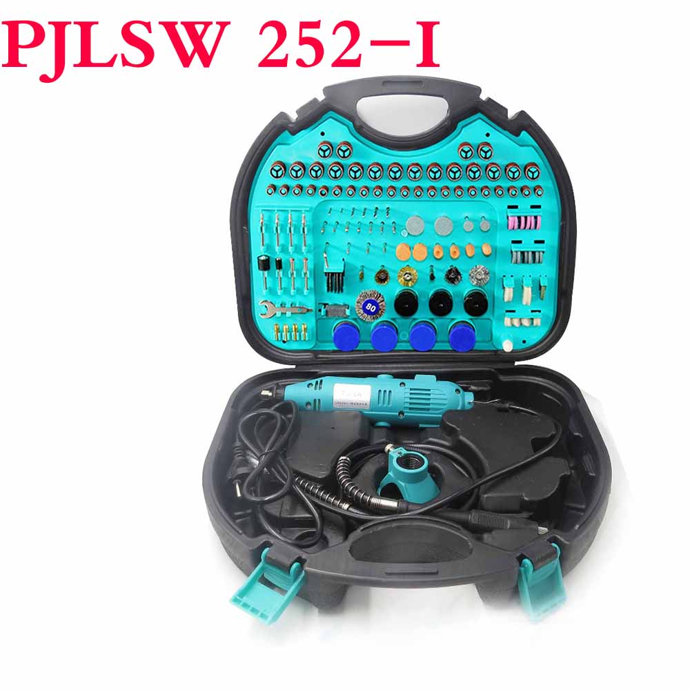 PJLSW252-I Kit combination tool electric grinder suit small jade carving machine polishing machine grinding machin Contains tool electric grinder suit hanging mill jade carving machine parts polishing abrasive grinding composition 100