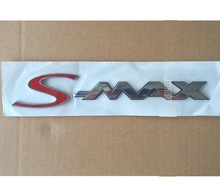 S-MAX  Chrome ABS Car Trunk Rear Number Letters Badge Emblem Decal Sticker for Ford S MAX edge chrome abs car trunk rear number letters badge emblem decal sticker for ford edge