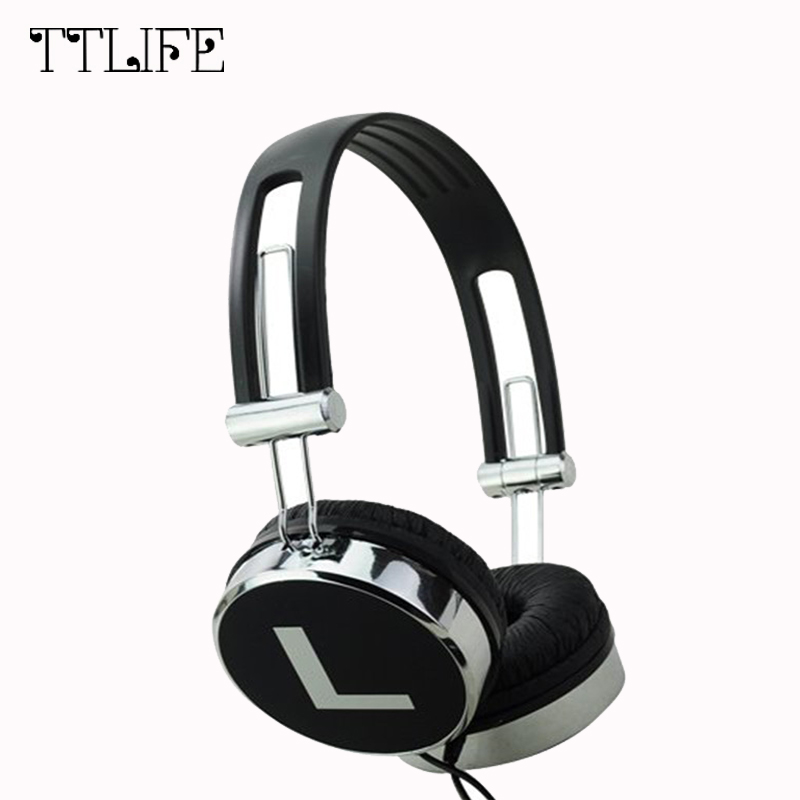 TTLIFE Original 3.5mm Wired Stereo Deep Bass Heaphone Video Game Gaming Earphone Headset  With Microphone For Computer Gamer PS4 each g8200 gaming headphone 7 1 surround usb vibration game headset headband earphone with mic led light for fone pc gamer ps4