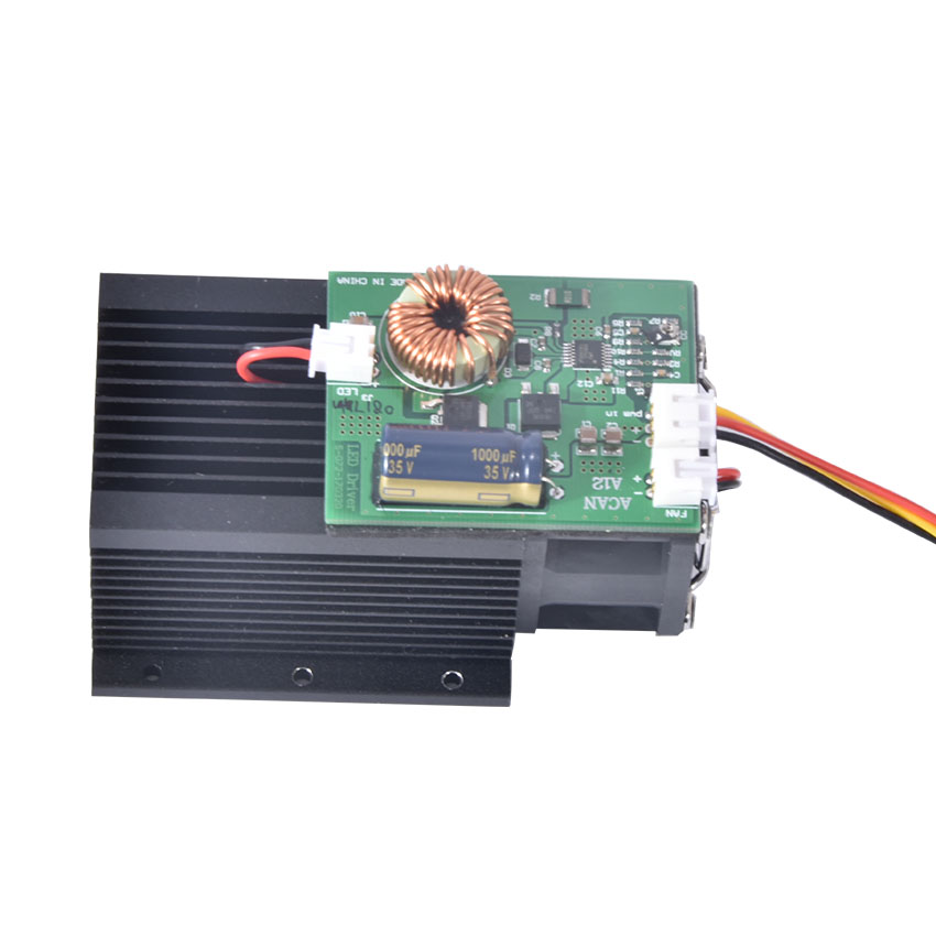 New Laser Module 15w 15000 Mw High Power Blue Diy Carving Cutting 450nm Engraving Machine ,445nm ~ 450nm,DC=12V,I