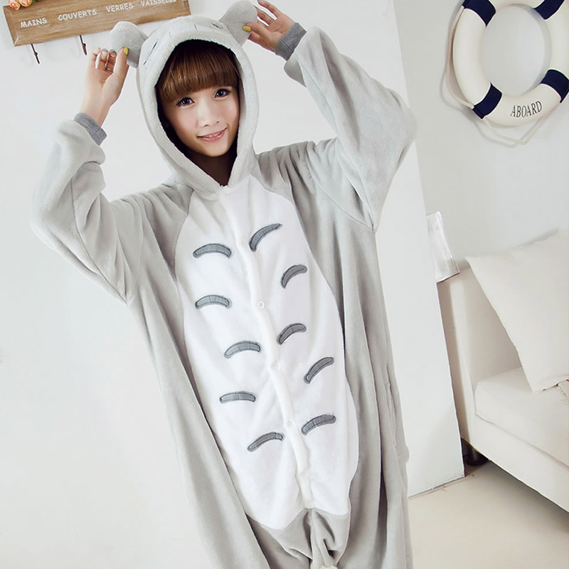 Popular One Piece Pajamas Totoro-Buy Cheap One Piece Pajamas ...
