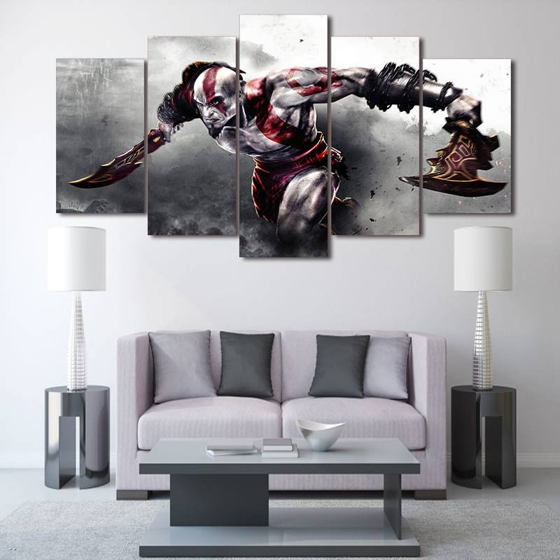 Hd Printed Game God Of War Painting On Canvas Room Decoration Print Poster Picture Canvas Free Shipping/90849