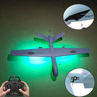 Z51/2.4GHz LED RC wingspan 2CH mode EPO flying wing aircraft EPP foam glider aircraft 43x21x12cm control distance 150M