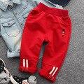 Детская одежда детские случайных брюки 2017 весной и осенью новые детские спортивные брюки хлопок мальчики солдат брюки 2-7 Т