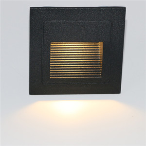 Image 1 - 10 stks 3 w led Trap Licht met Embedded box Aluminium Stap Lichten Outdoor Waterdichte IP65 LED Wall Lamp Footlight PRO 04