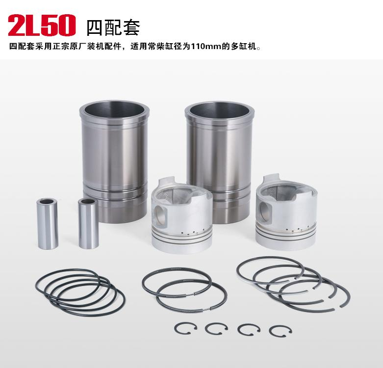 Fast Shipping Diesel Engine 2L50 Piston Pin Ring Original Changchai Water Cooled butterflies in the barley