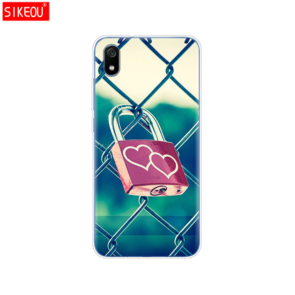 Image 4 - silicone case for xiaomi redmi 7a cases full protection soft tpu back cover on redmi 7 a bumper hongmi 7a phone shell bag coque-in Fitted Cases from Cellphones & Telecommunications