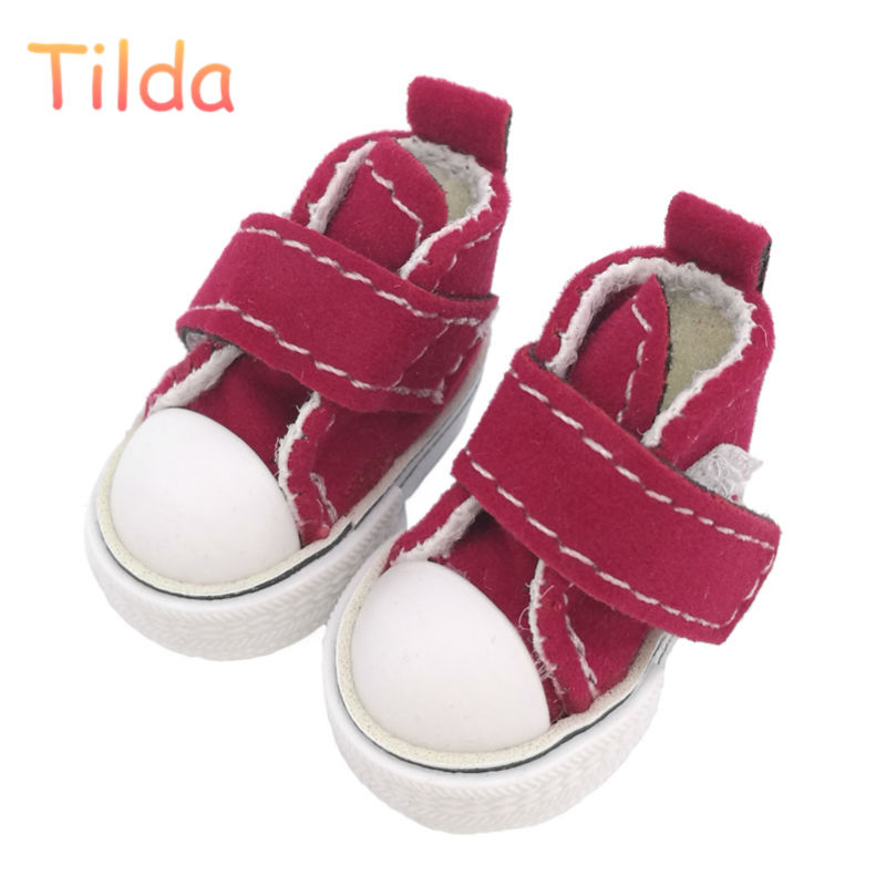 12 Pairs Tilda 3 5cm Doll Shoes for Blythe Doll Toy 1 6 Mini Lovely Dolls