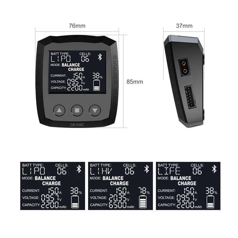 ISDT Chargeur q6 Lite 200 W 7-32v//dc 2-6 S 200 W 8 a
