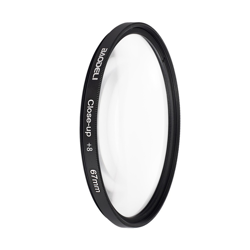 BAODELI Camera Lens Filtro Close Up Macro Filter 8 10 Concept 49 52 55 58 62 67 72 77 82 mm For Canon 4000d Nikon D3500 Sony in Camera Filters from Consumer Electronics