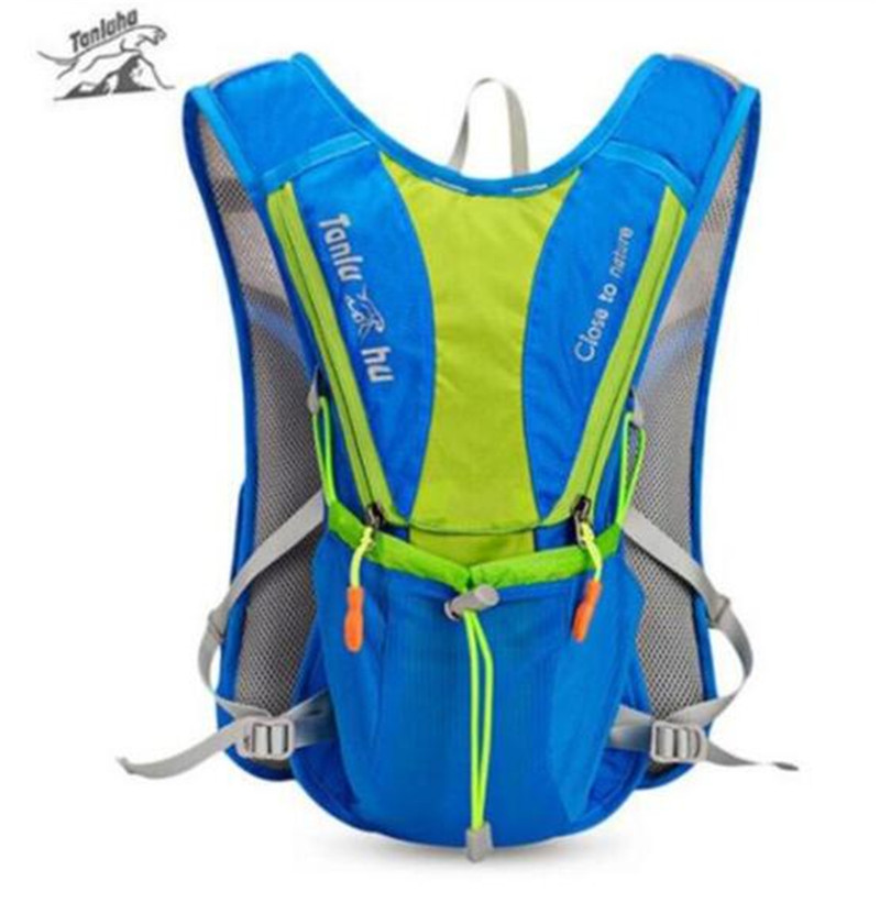 TANLUHU Ultralight Outdoor Marathon Running Cycling Hiking Hydration Backpack Pack Vest Bag For 2L Water Bag Bladder Bottle in Running Bags from Sports Entertainment