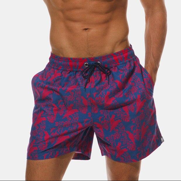 Summer Boardshorts Mens Beach Shorts Swimwear Quick Dry Board Shorts Men Bermudas Surfing Swimming Short Mesh Liner Sweatpants