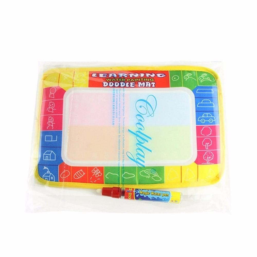 OCDAY Magic Pen Kids Children Toys Water Drawing Painting Writing Board Mat Xmas Gift New Sale