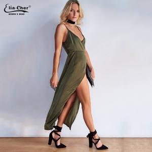 dc87b47d4f2 Womens Eliacher Brand Casual Plus Size Maxi Dress Vestido