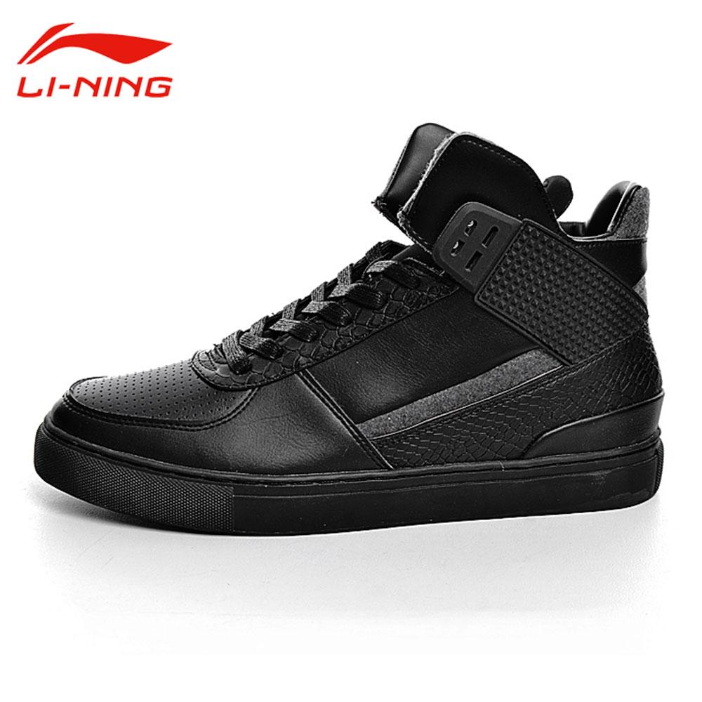 Li-Ning Mens Sports Life Walking Shoes Breathable Medium Cut Support Sneakers Leisure Original LiNing GLKM021