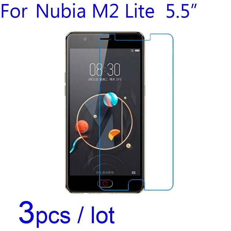 3pcs/lot for ZTE Nubia M2 Lite/Youth NX573J/NX551J Phone Screen Protectors Soft Clear/Matte/Nano Anti-Explosion Protective Films(China)