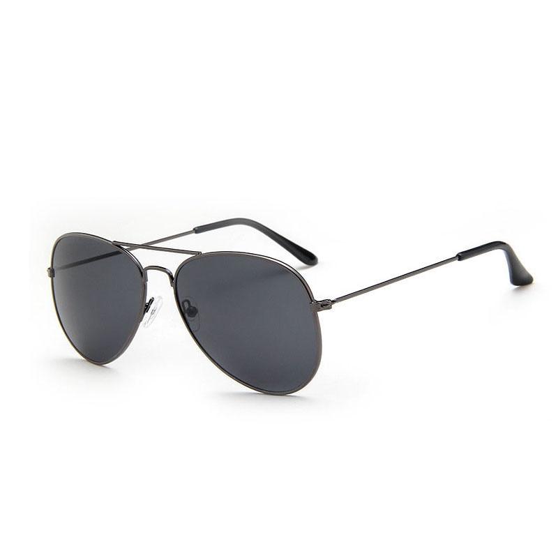 New Classic Retro Vintage Mens Womens Unisex Black Pilot Large Sunglasses UV400