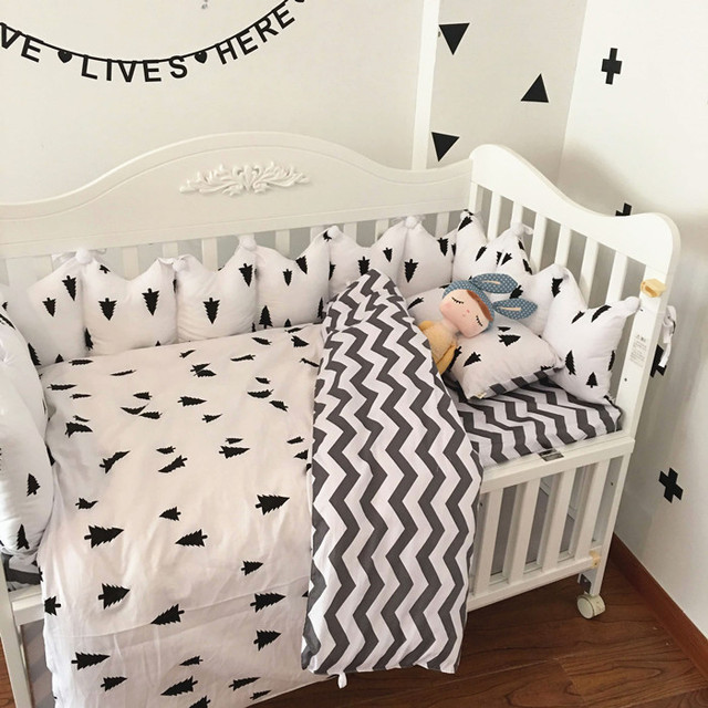 Grey Chevron Crib Bedding Baby Set Sweet Nursery Per Quilt Ed Sheet 100