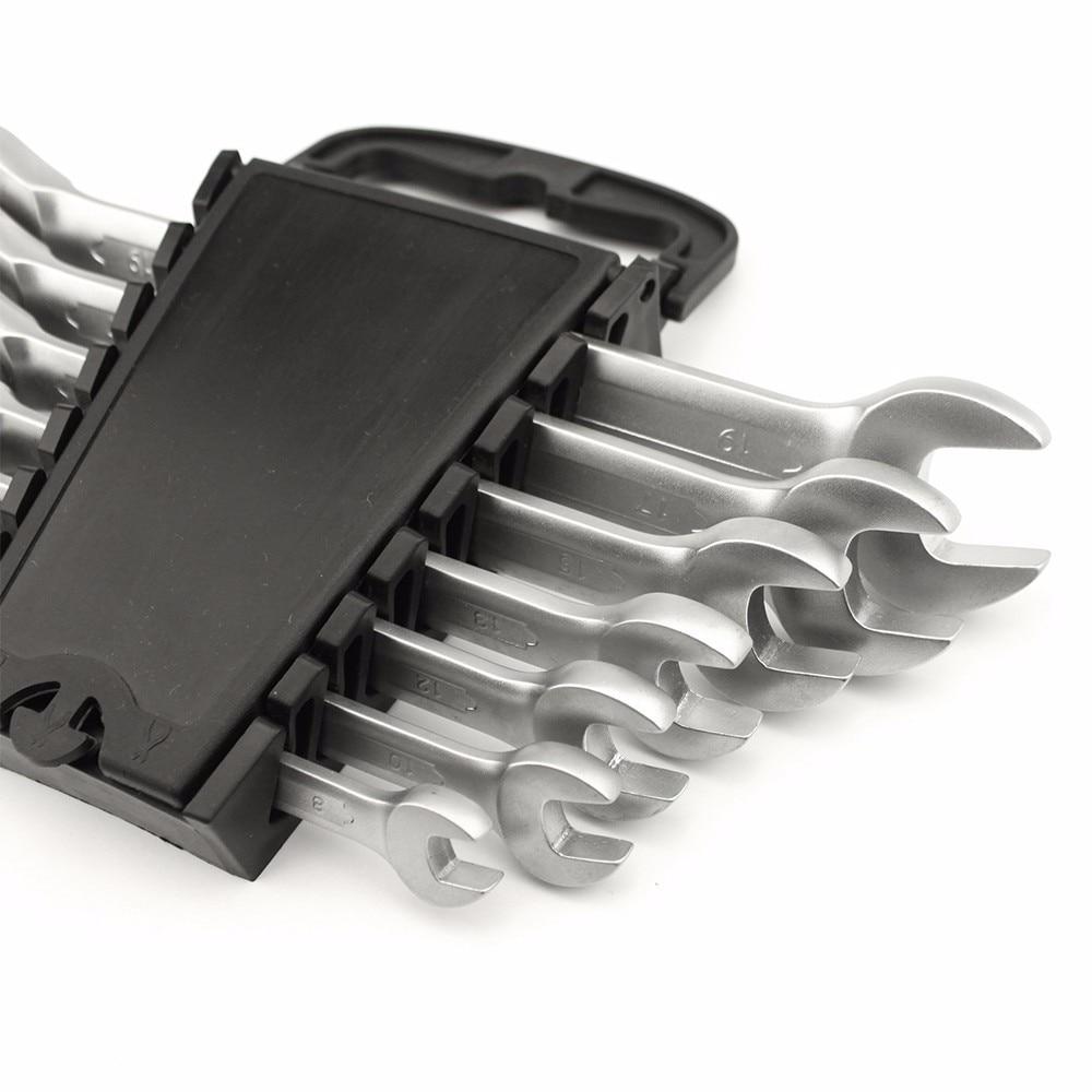 YOFE 8–19 mm raktų veržliarakčio komplektas, pritaikytas - Įrankių komplektai - Nuotrauka 3