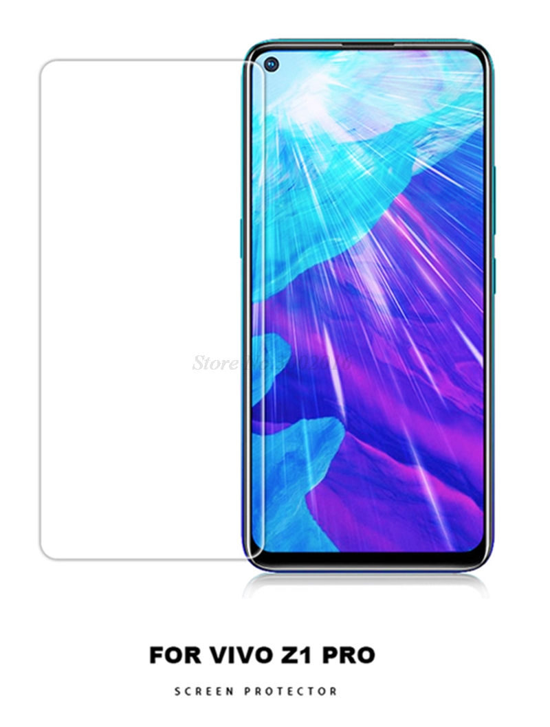 2Pcs Tempered Glass For vivo Z1 Pro Glass Screen Protector 2.5D 9H Premium Tempered Glass For vivo Z1 Pro Protective Phone Film