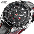 JEDIR Esporte Militar Relógios Homens Top Marca de Luxo de Couro Masculino Relógio de Pulso De Quartzo-relógio Relojes Hombre Relogio masculino 2016