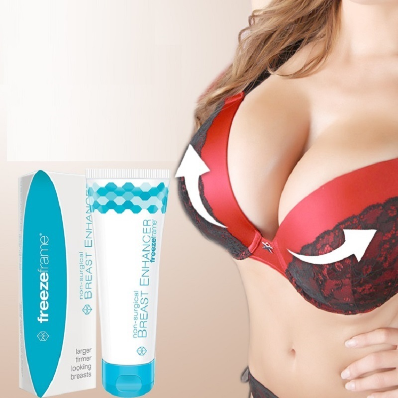 Freezeframe Safe Non hormonal Breast Massage Cream Breast Enlargement Cream Non surgical Effective Breast Enhancer Big