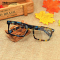 Óculos de armação 2016 miopia retro lerdo computador vidros ópticos armações de óculos vintage armações de óculos de olho para as mulheres dos homens do vintage